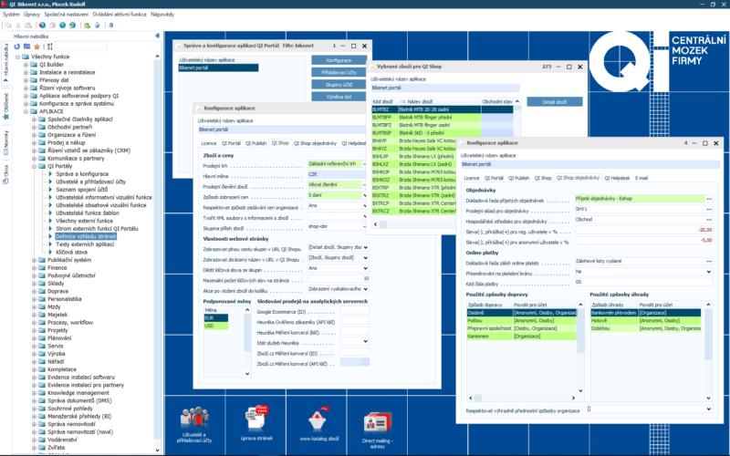 Připravte si data pro e-shop v informačním systému QI